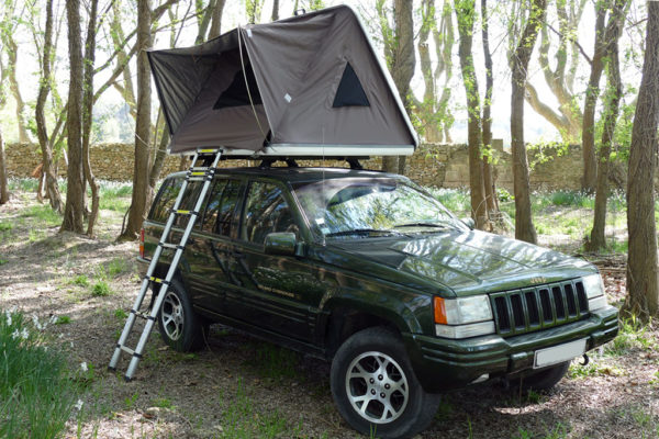 tente de toit capri