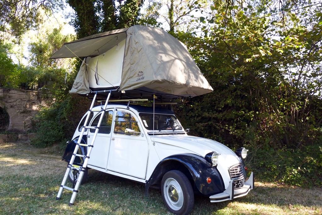 tente de toit oasis trekking la plus l g re des tentes. Black Bedroom Furniture Sets. Home Design Ideas