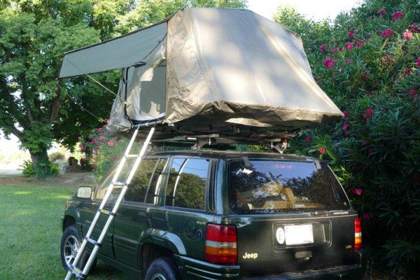 tente de toit oasis