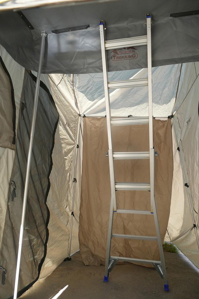 Tente De Toit Oryx Trekking Deploiement Rapide Annexe 8 M2