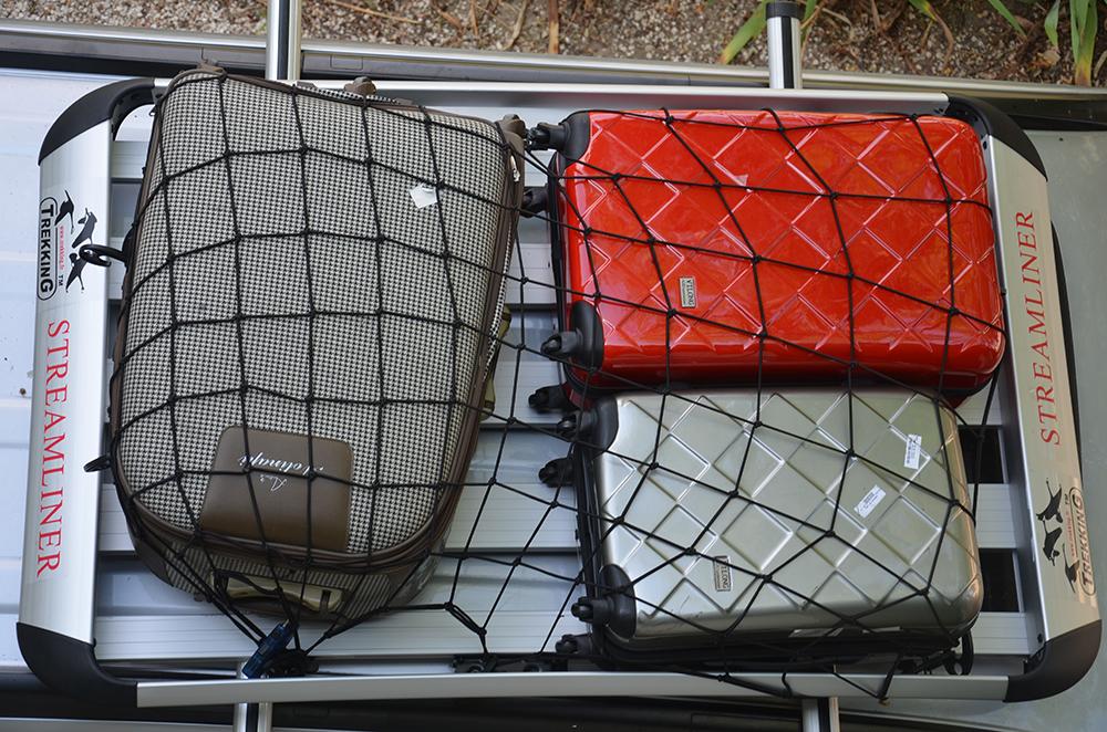 filet de galerie de toit pour s curiser le mat riel trekking. Black Bedroom Furniture Sets. Home Design Ideas