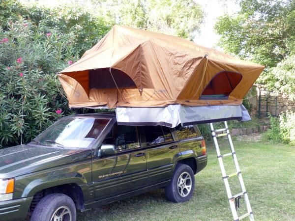 tente de toit PHENIX