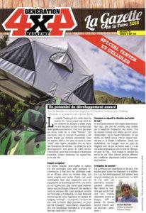 tente de toit trekking generation 4x4 gazette