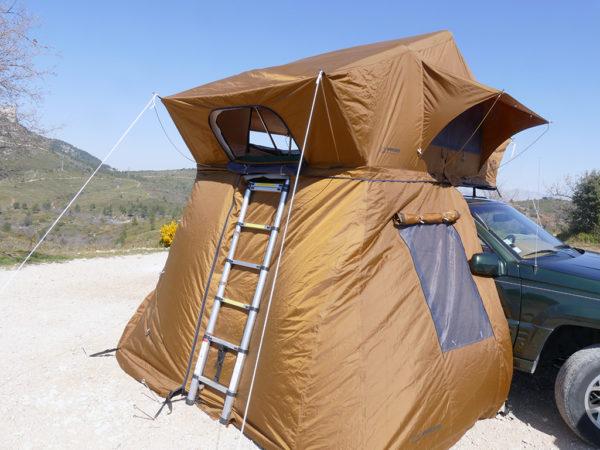 tente de toit trekking phenix annexe